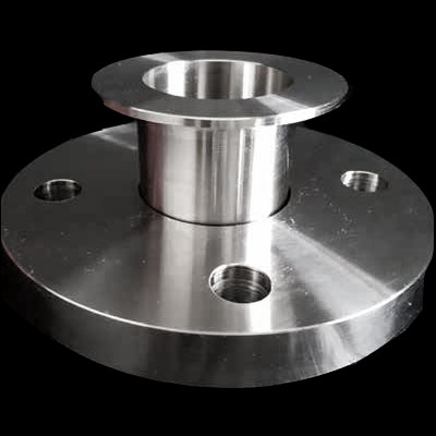 Flange with stub end