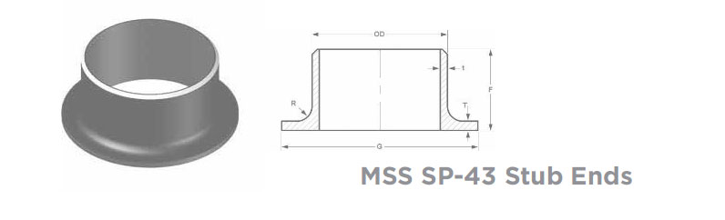 MSS SP-43 Stub Ends